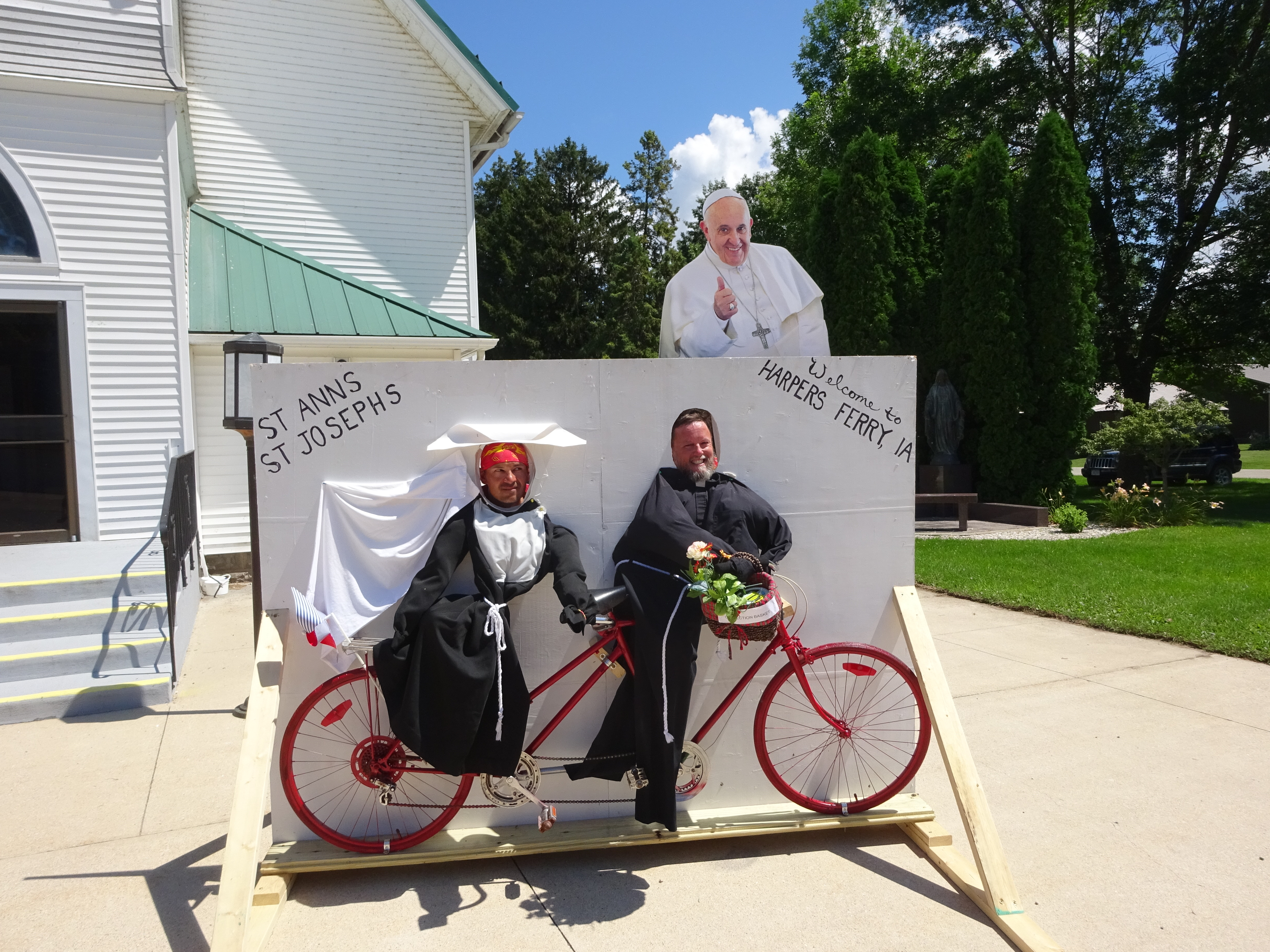 Team Butt Ice and The Pope